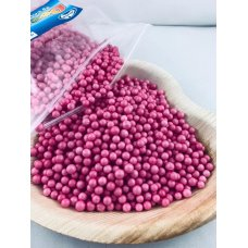 Confetti Balls 4-6mm Bright Magenta 9gm Bag