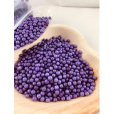 Confetti Balls 4-6mm Bright Purple 9gm Bag