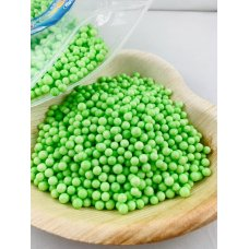 Confetti Balls 4-6mm Bright Lime 9gm Bag