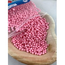 Confetti Balls 4-6mm Pastel Pink 9gm Bag
