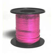 Metallic Curling Ribbon Pink 225m