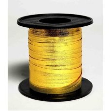 Metallic Curling Ribbon Gold 225m