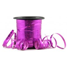 Holographic Curling Ribbon Fuchsia 225m