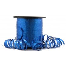 Holographic Curling Ribbon Blue 225m
