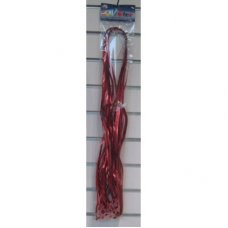 Metallic Pre Cut & Clipped Curling Ribbon Red 1.75m P25
