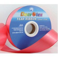 Tear Ribbon Red 91m