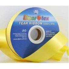 Tear Ribbon Yellow 91m