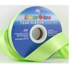 Tear Ribbon Lime 91m