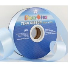 Tear Ribbon Light Blue 91m