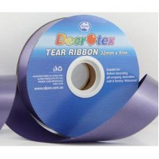 Tear Ribbon Navy Blue 91m