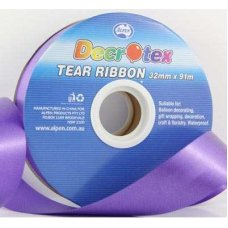Tear Ribbon Purple 91m