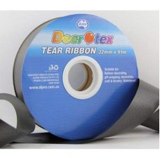 Tear Ribbon Black 91m