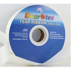Tear Ribbon Ivory 91m