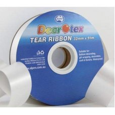 Tear Ribbon Silver 91m