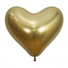 35cm Heart Reflex Gold (970) Bag 50