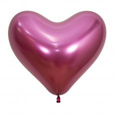 35cm Heart Reflex Fuchsia (912) Bag 50