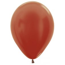 Met Copper (573) 12cm Sempertex Balloons Bag 100