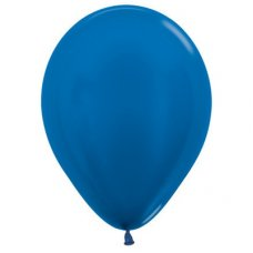 Met Royal Blue (540) 12cm Sempertex Balloons Bag 100