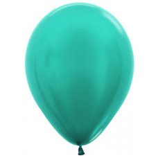 Met Caribbean Blue (538) 12cm Sempertex Balloons Bag 100