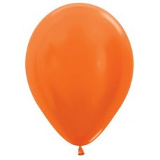 Met Orange (561) 12cm Sempertex Balloons Bag 100