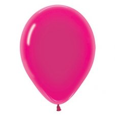 Crystal Fuchsia  (312) 12cm Sempertex Balloons Bag 100