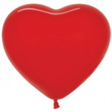 Heart Fash Red (015) 15cm Sempertex Bag 100