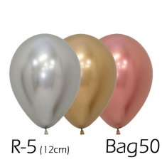Reflex Deluxe Asstd (968 981 970)12cm Sempertex Bag 50