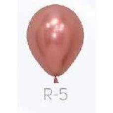 Reflex Rose Gold (968) 12cm Sempertex Balloons Bag 50