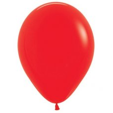Fash Red (015) 30cm Sempertex Balloons Bag 100