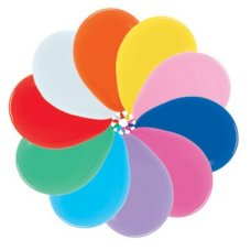 Fash Mixed (000) 30cm Sempertex Balloons Bag 100