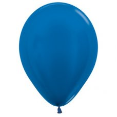 Met Royal Blue (540) 30cm Sempertex Balloons Bag 100