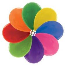 Met Mixed (500) 30cm Sempertex Balloons Bag 100