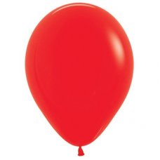 Std Red (015) 30cm Sempertex Balloons P25