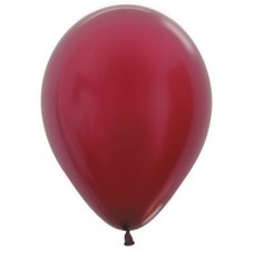 Met Burgundy (518) 30cm Sempertex Balloons P25