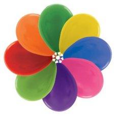 Met Mixed (500) 30cm Sempertex Balloons P25