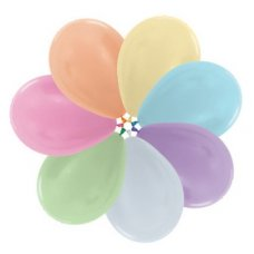 Satin Mixed  (400) 30cm Sempertex Balloons P25