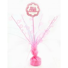 It's A Girl Pink Centrepiece Weight 165gm P1