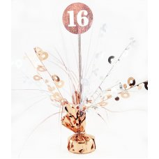 #16 Rose Gold & White Centrepiece Weight 165gm P1