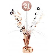 #21 Rose Gold & White Centrepiece Weight 165gm P1