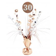 #30 Rose Gold & White Centrepiece Weight 165gm P1