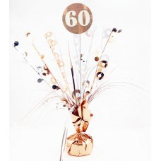 #60 Rose Gold & White Centrepiece Weight 165gm P1