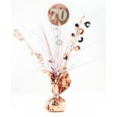 #70 Rose Gold & White Centrepiece Weight 165gm P1