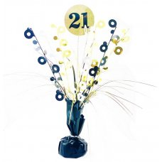 #21 Black & Gold Centrepiece Weight 165gm P1