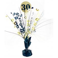 #30 Black & Gold Centrepiece Weight 165gm P1