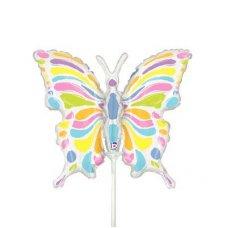 Pastel Butterfly Mini 14
