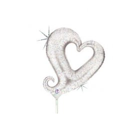 Chain of Hearts Silver Mini 14
