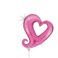 Chain of Hearts Pink Mini 14