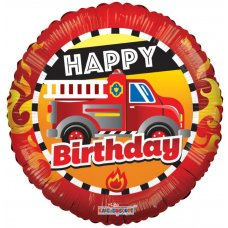 Birthday Fire Truck (15048-18) 18