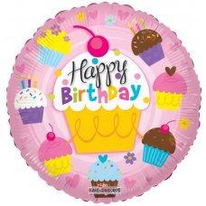 Birthday Cupcakes (19502-18) Round P1