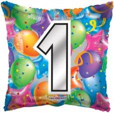 Number 1 Square (15059-18) Square P1